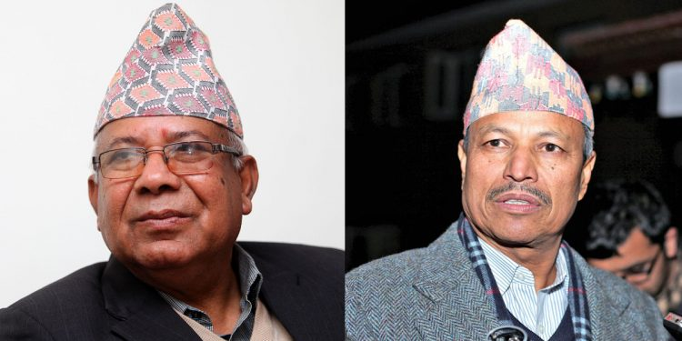 Nepal: CPN-UML suspends senior party leaders Madhav Kumar and Bhim Rawal for 6 months 1