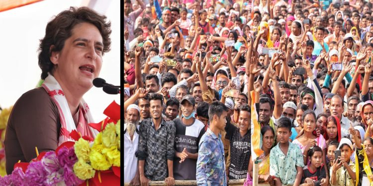 Assam don't need double-engine government with double CM: Priyanka Gandhi sharpens attack on BJP 1