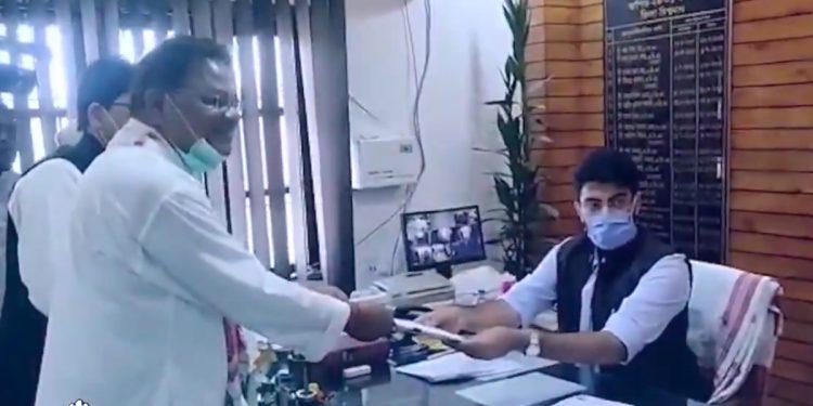 Assam Congress president Ripun Bora files nomination from Gohpur constituency