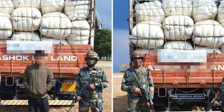 The Assam Rifles recently seized 120 bags of tonsured human hair and suspected them to have arrived from the Tirupati temple without any valid documents.