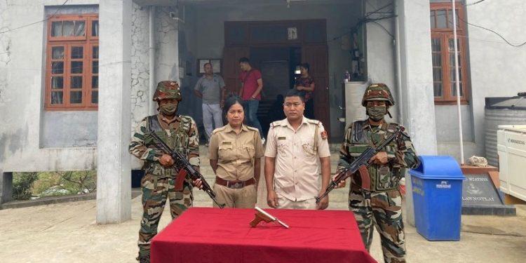 Mizoram: Assam Rifles recover arms, one held 1