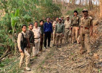 Forest officials stop Illegal construction along Assam-Mizoram border 1