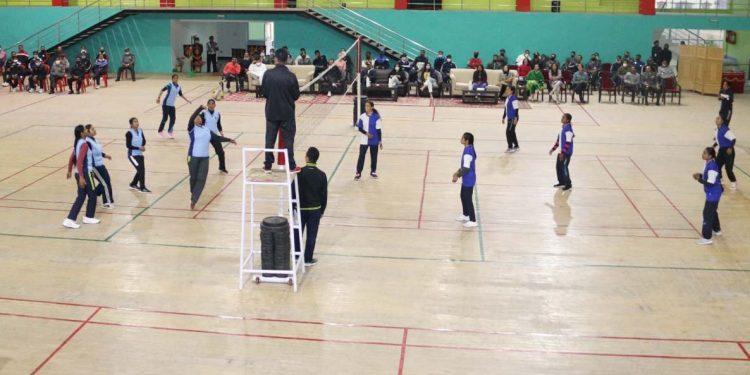 Assam Rifles volleyball match