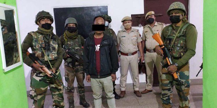 Assam Rifles nabs militant