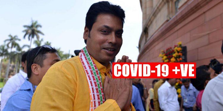 Tripura CM Biplab Deb tests COVID-19 positive 1