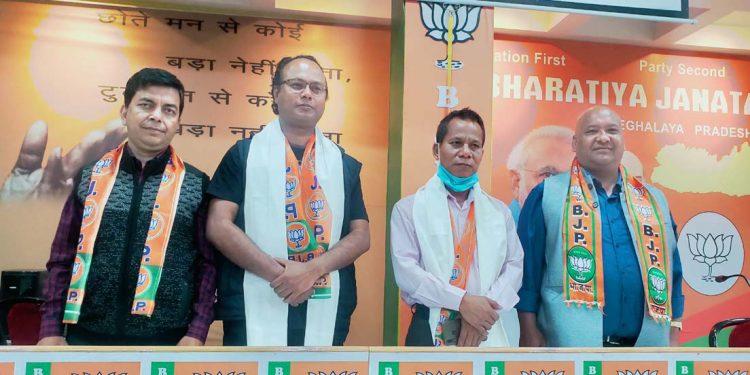 BJP MDCs in Shillong