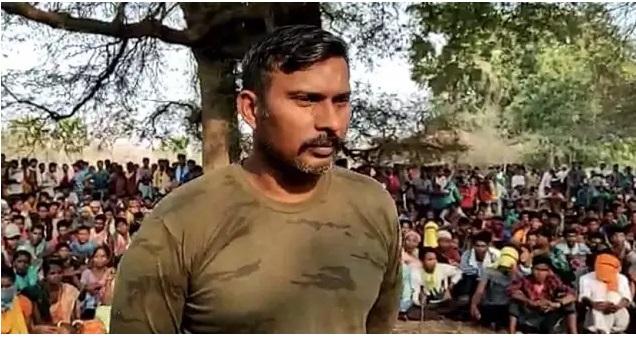 Maoists on Thursday evening released abducted CRPF commando Rakeshwar Singh Minhas.