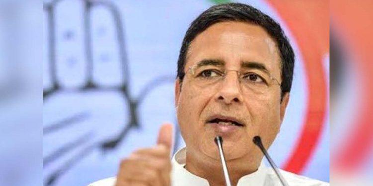 Congress leader Randeep Singh Surjewala