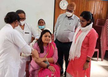 Covid19 vaccine in Darrang