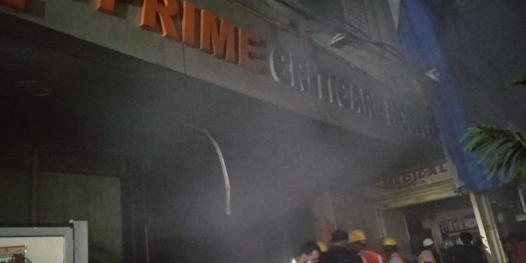 Four patients killed in fire in hospital in Maharashtra's Thane 1