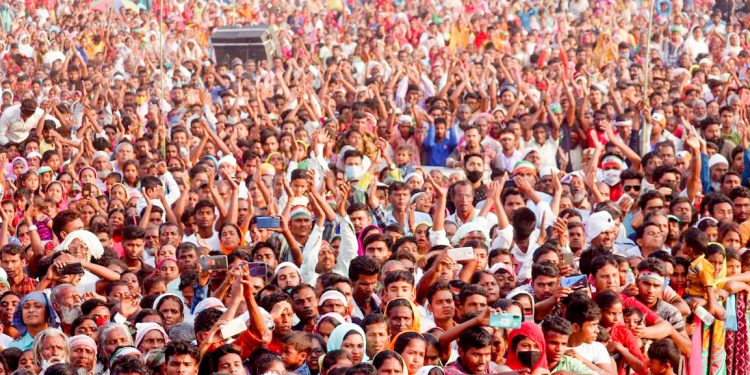 Congress' show of strength as campaigning intensifies for third phase of Assam Assembly elections 1