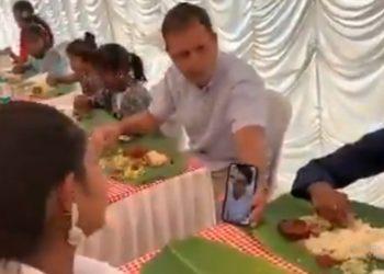 Congress leader Rahul Gandhi have Easter lunch with orphans in Kerala, Priyanka Gandhi joins via video call 1
