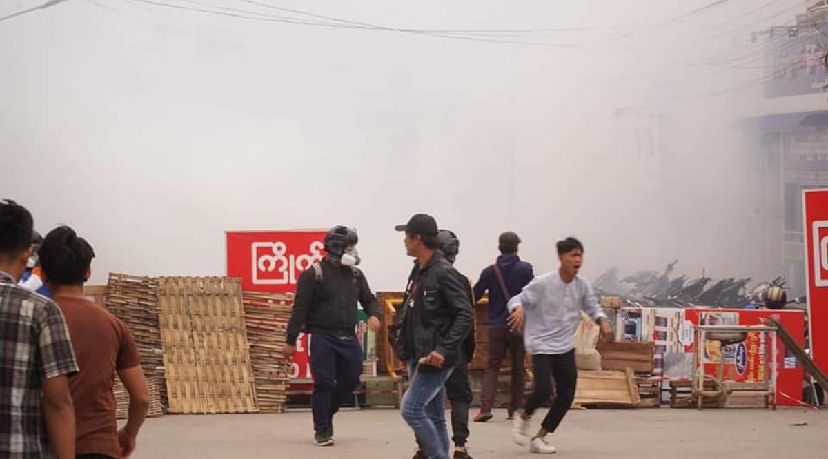 Myanmar anti-coup demonstrations: Protestors launch 'Blood Strike' 8