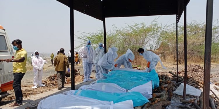 Second wave of COVID-19: Crematoriums work overtime as bodies pile up 1