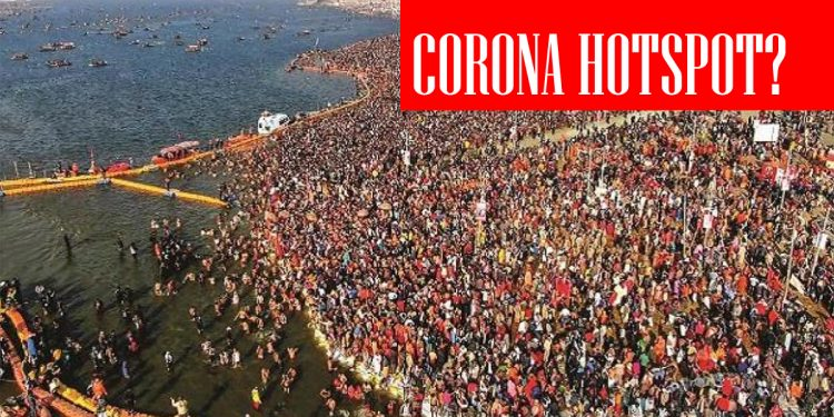 Second wave of COVID-19: Over 100 devotees test positive at Kumbh Mela as people violate protocols 1
