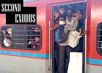Second wave of COVID-19: Fearing lockdown, migrant workers begin journey back home 1