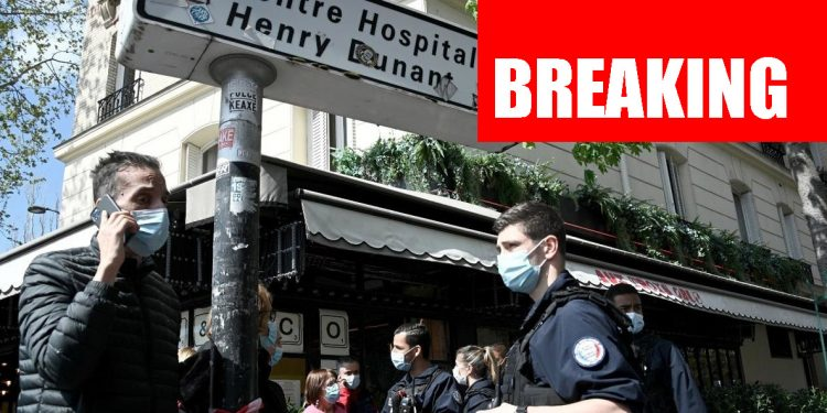 Paris hospital shooting: One dead, one injured as gunman opens fire 1