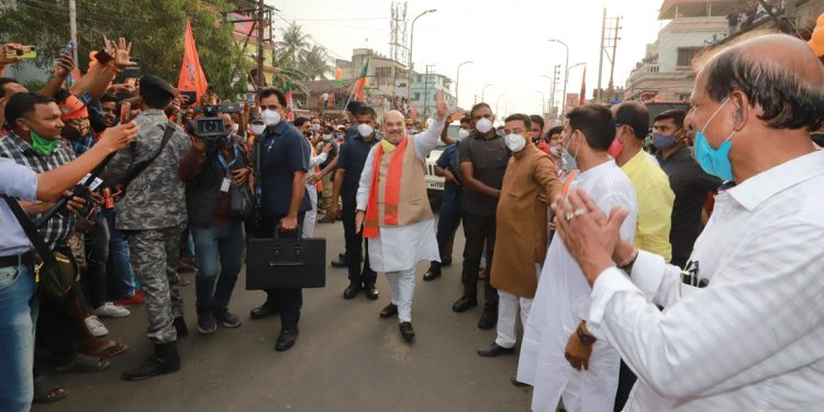 West Bengal elections: 3 phases of polling can't happen on one day, says Amit Shah even as COVID-19 cases rise exponentially 1