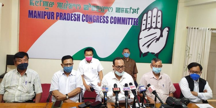 Manipur Congress questions BJP-led State Government over non-release of MNREGA funds 1
