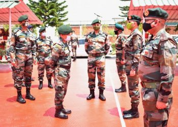 Indian Army's GOC-in-C Eastern Command takes stock ofcounter insurgency operations in Assam, Nagaland and Manipur 1