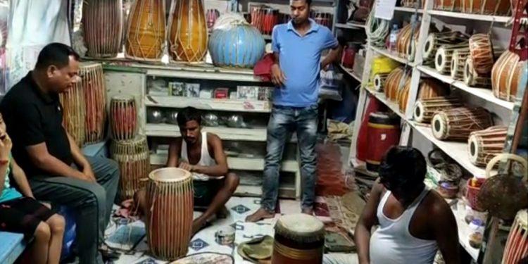 Assam COVID-19 crisis: Drum makers in Patshala in distress ahead of Rongali Bihu 1