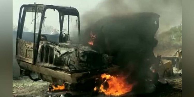 Maoists attack