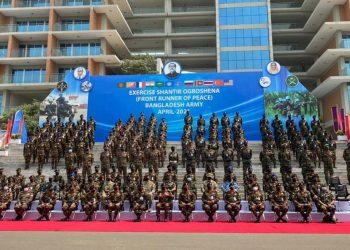 Military exercise Shantir Ogroshena 2021