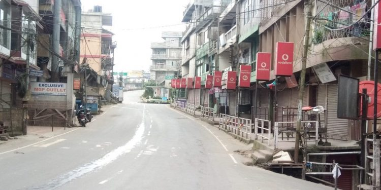 Partial lockdown in Mizoram extended for 7 more days 1