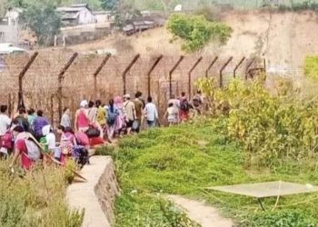 Myanmar citizens in Manipur