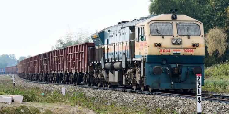 NF Railway goods train