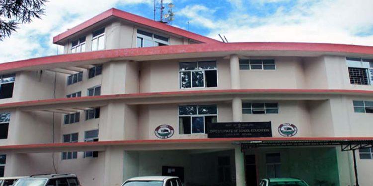 Nagaland school education department
