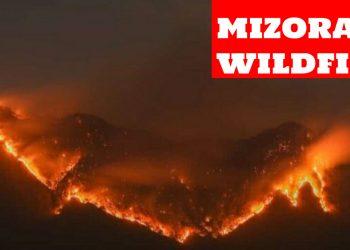 Mizoram: Special Investigation Team to probe forest fire 1
