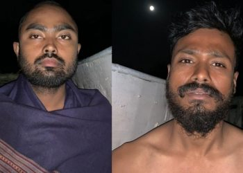 Two rescued ONGC staffers.