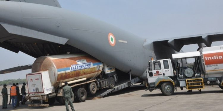 Indian Air Force deploys five types of aircraft for Covid-19 relief 1