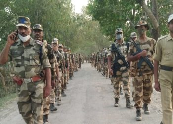 Security personnel in Dhubri