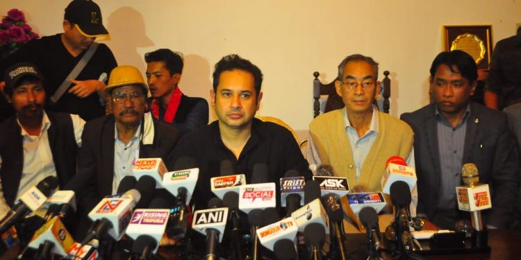 The TIPRA in the April 6 elections had defeated the ruling BJP-IPFT alliance.