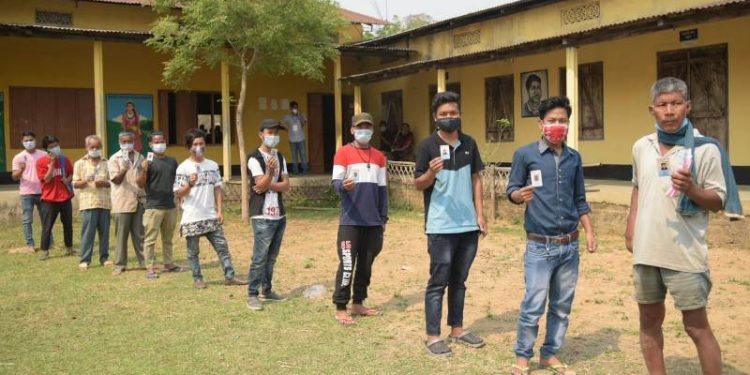 Over 79% voter turnout till 5 p.m. in Assam Assembly election 1