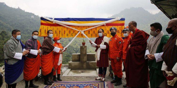 Water project in Bhutan