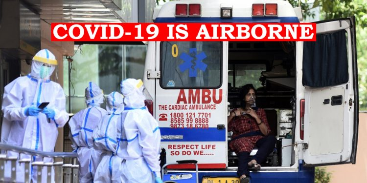 COVID-19 virus floats in air longer than we thought, says AIIMS Director 1