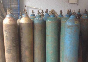 cylinder of oxygen