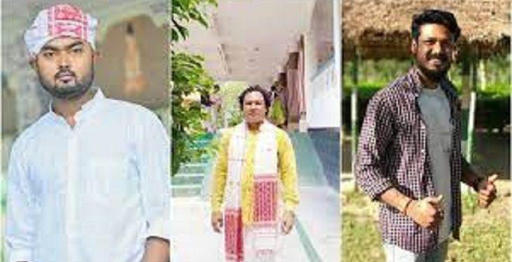 The three kidnapped employees are Mohini Mohan Gogoi, Alokesh Saikia and Ritul Saikia.
