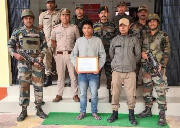 Arunachal: NSCN (K) militant surrenders in Changlang 1