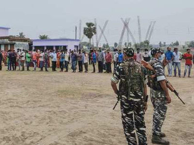 Bengal Assembly election: Violence mars phase 4 polling, 4 killed in CISF firing at Cooch Behar 1