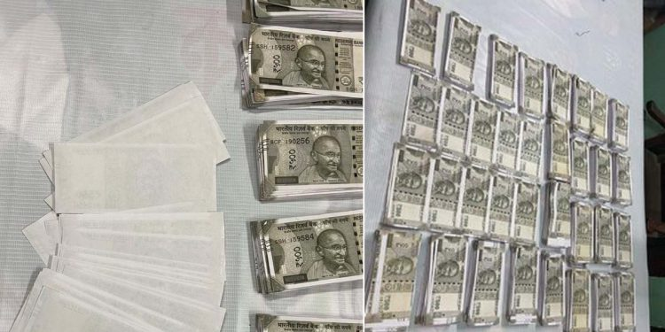 fake currency notes seized