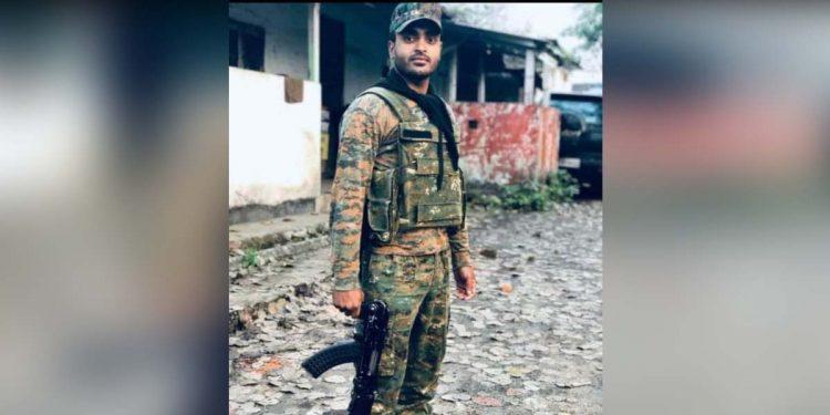CRPF jawan Shambhu Roy