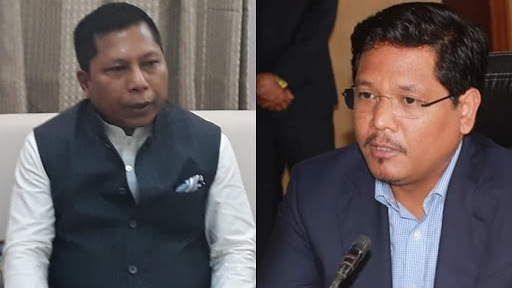 While Conrad Sangma focuses on Government's initiative and development, Mukul Sangma highlighted the corruption of the NDA Government led by NPP.