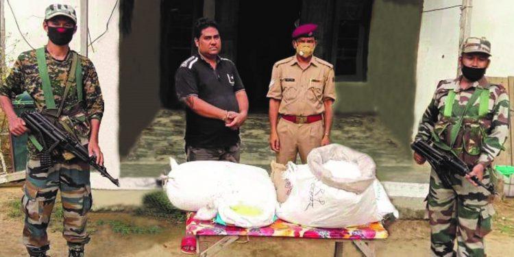 Mizoram: Assam Rifles troopers recover 136kgs of gun powder, apprehends one person 1