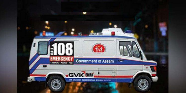 108 Assam ambulance