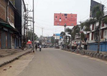 Dimapur road bandh