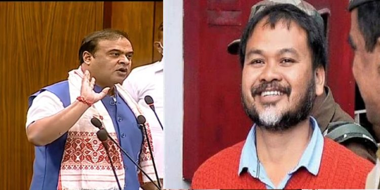 Assam CM Himanta Biswa Sarma's insensitive remark on Akhil Gogoi draws ire 1